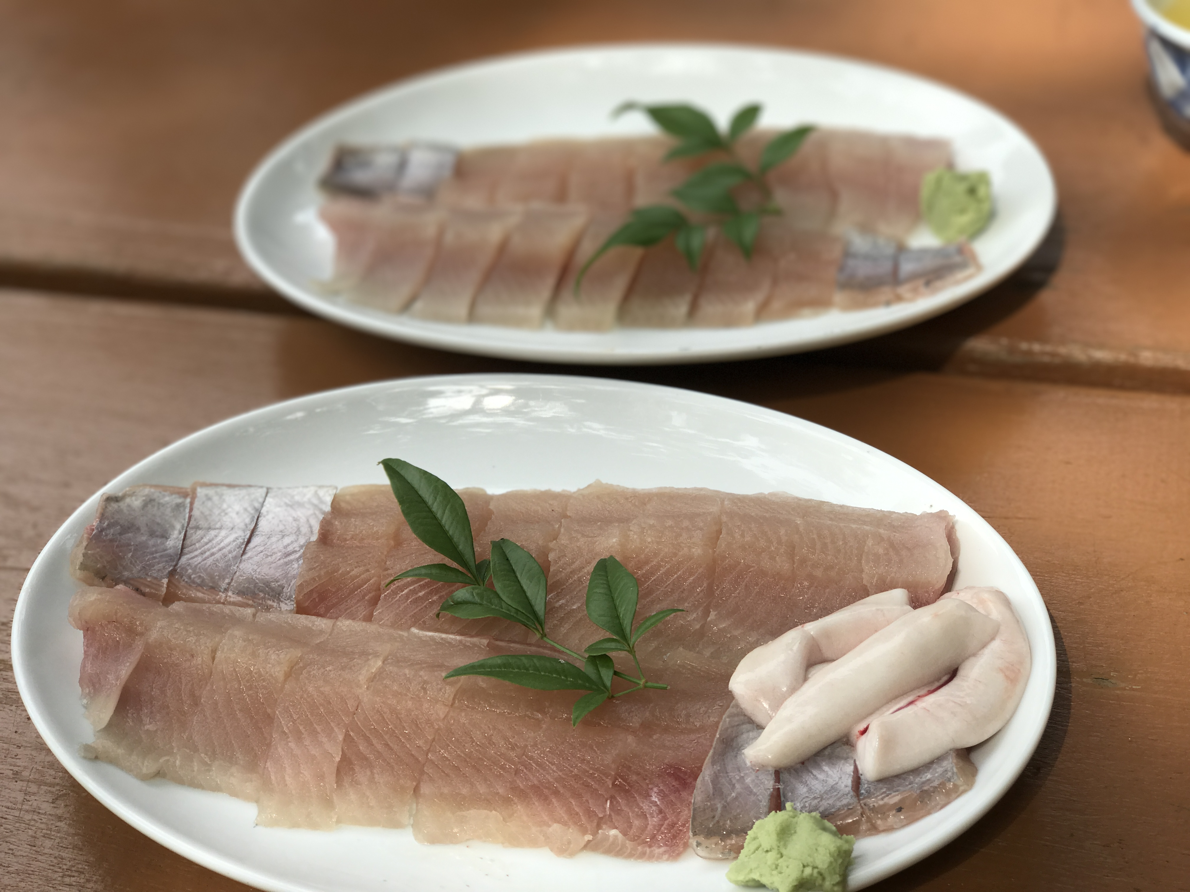 鱒を味わう