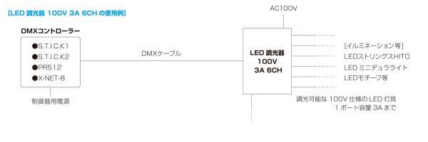 100v3a6ch_dimmer_system